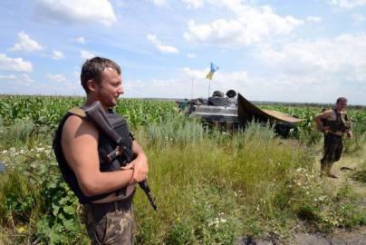 Soldati ucraini nelle campagne di Donetsk (Getty images)