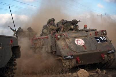 Tank israeliano (MENAHEM KAHANA/AFP/Getty Images)