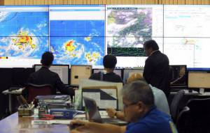 Centro meteorologico  (Getty images)