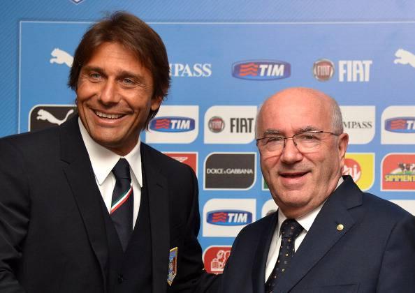 """Calcio, Tavecchio difende Conte: """"Resta al suo posto"""""""