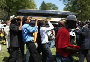 funerali di Michael Brown (GETTY IMAGES)