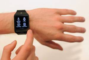 smartwatch (Josh Edelson/AFP/Getty Images)