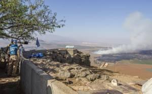 Valico Golan, tra Siria e Israele (Getty images)