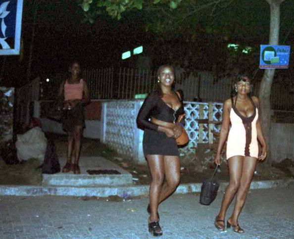 Уличные проститутки в африке