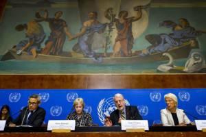 Commissione d'inchiesta Onu sulla Siria a Ginevra (Getty images)