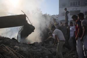 Popolazione a Gaza (Getty images)