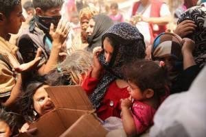 Rifugiati iracheni (Getty images)