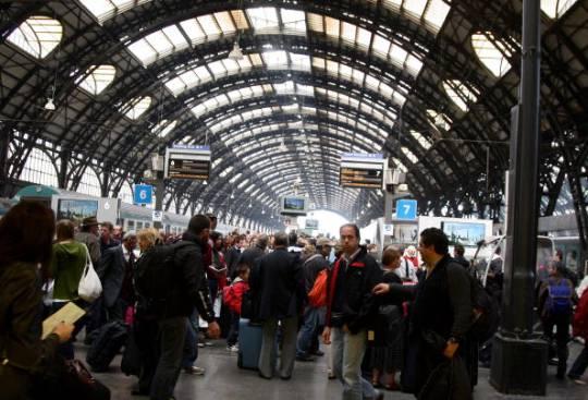 Stazione centrale di Milano (immagine di repertorio di Vittorio Zunino Celotto/Getty Images)