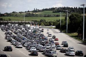 Traffico autostrada (getty images)