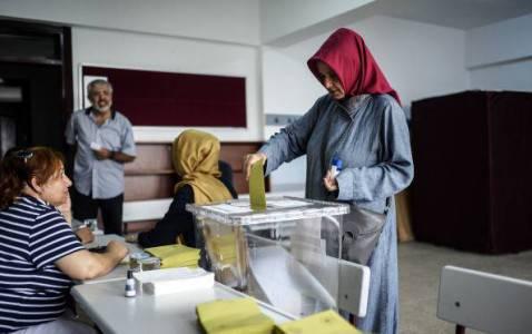 Elezioni presidenziali in Turchia (BULENT KILIC/AFP/Getty Images)
