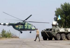 Esercito ucraino nei pressi di Donetsk (Getty images)