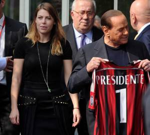 Silvio e Barbara Berlusconi (getty images)