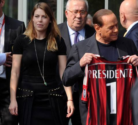 Silvio e Barbara Berlusconi (getty images)