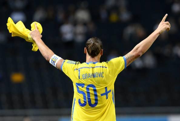 Calcio, infinito Ibrahimovic: 50 gol con la Svezia e record Nazionale VIDEO