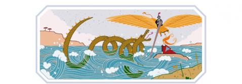 Doodle per Ludovico Ariosto (Screenshot Google.it)