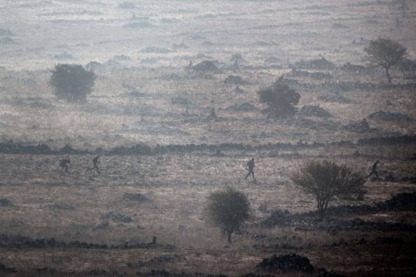 Alture del Golan in Siria (MENAHEM KAHANA/AFP/Getty Images)