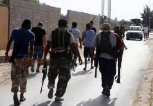 Brigate fedeli  al defunto rais Muammar Gheddafi (Getty images)