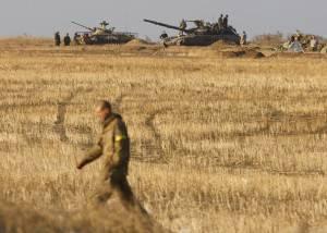 Postazioni dell'esercito ucraino (Getty images)