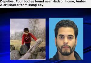 Padre e figlio ricercati a Hudson (screen shot sito baynews9.com)