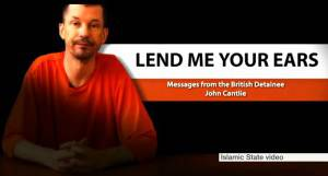 John Cantlie, nuovo video Isis (screen shot youtube)