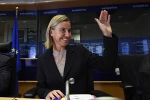 Ministro degli Esteri Italiano Federica Mogherini (Getty images)
