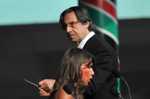 Riccardo Muti (TONY KARUMBA/AFP/Getty Images)