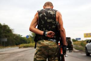 Separatisti filorussi a Donetsk (Getty images)