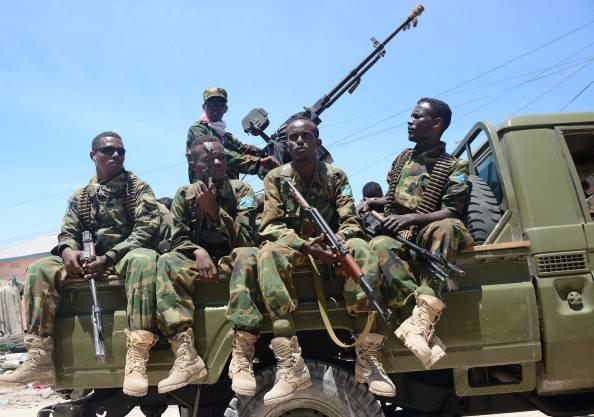 Soldati somali (Mohamed Abdiwahab/AFP/Getty Images)