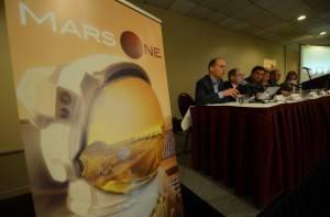 Bas Lansdorp presenta Mars One (EMMANUEL DUNAND/AFP/Getty Images)