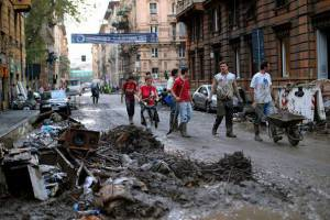 Alluvione Genova (Getty Images)