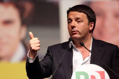 Matteo Renzi (foto Origlia/Getty Images)