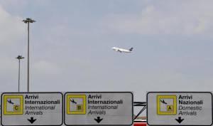 Aeroporto Fiumicino, Roma (Andreas Solaro/Getty images)