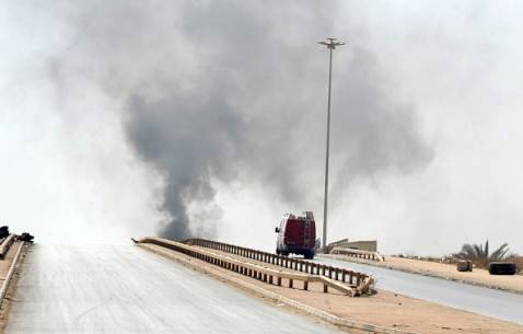 Scontri a Bengasi, Libia (STR/AFP/Getty Images)