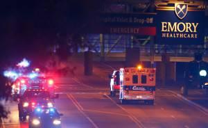 Usa. la seconda infermiera contagiata da Ebola a Dallas trasferita ad Atlanta (Kevin C. Cox/Getty Images)