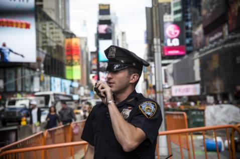 NYPD (Andrew Burton/Getty Images)