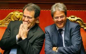 Paolo Gentiloni ai tempi del governo Prodi (VINCENZO PINTO/AFP/Getty Images)