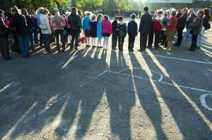 Apertura delle scuole a Donetsk, Ucraina (Getty images)