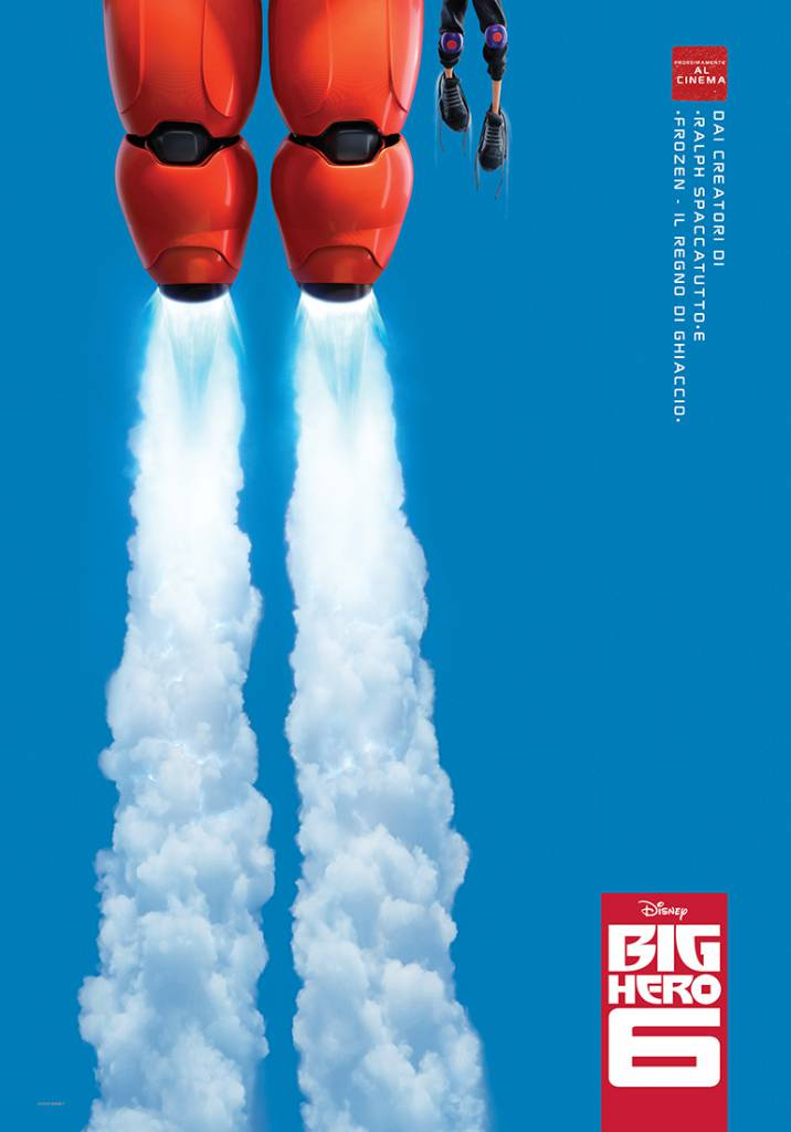 """""""Big Hero 6"""": il nuovo film di Natale firmato Disney"""