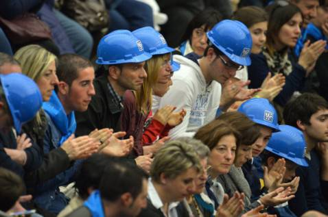 Operai Ast (ALBERTO PIZZOLI/AFP/Getty Images)