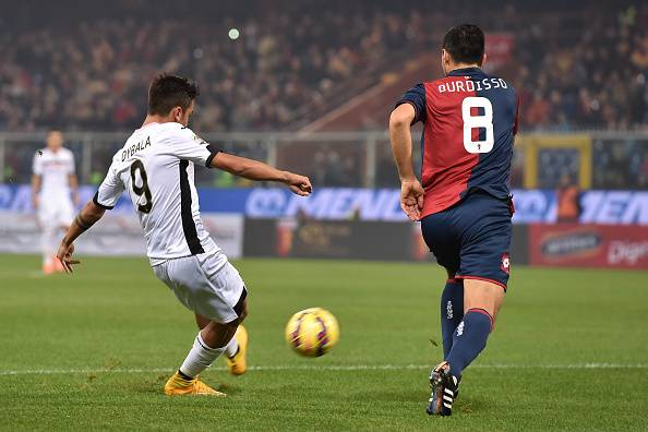 Antonelli risponde a un gran gol di Dybala: Genoa – Palermo 1-1