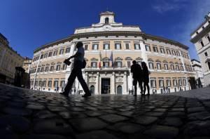 Montecitorio (Alessia Pierdomenico/Bloomberg via Getty Images)