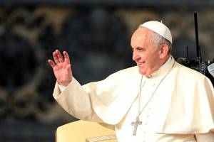 Pope Francis Attends His Weekly Audience In St Peter's Square