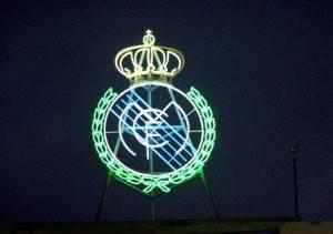 Real Madrid club emblem