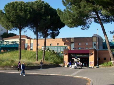 La stazione di Monte Mario (licenza CC-BY-SA-3.0)