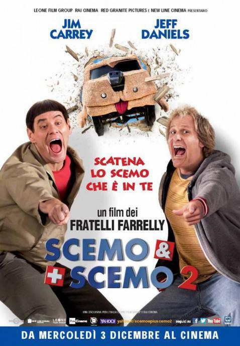 Scemo & + scemo 2 - poster