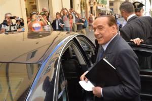 Silvio Berlusconi, leader di Forza Italia (AFP PHOTO / ANDREAS SOLARO - Getty images)