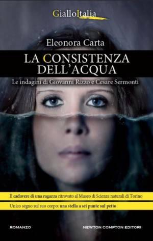 """Cover del libro """"La consistenza dell'acqua"""""""