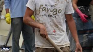 Angeli del fango a Genova (Fonte: Youreporter.it)