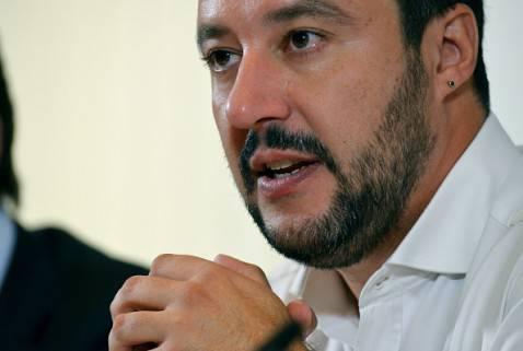 Matteo Salvini, segretario della Lega Nord (VINCENZO PINTO/AFP/Getty Images)