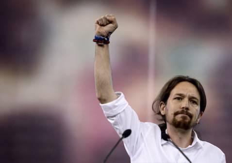 Pablo Iglesias (DANI POZO/AFP/Getty Images)